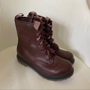 Arizona Jean Women's Red Leather Booties Size 6.5W